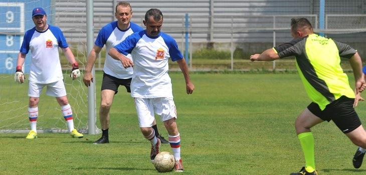 Футбольная сборная Мособлдумы обыграла депутатов Талдомского района со счётом 2-0