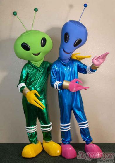 Инопланетянина костюм своими руками