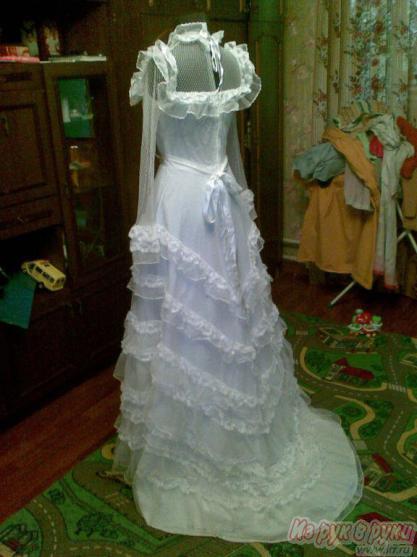 Свадебное платье 90-х годов