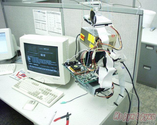 Компьютер без корпуса видео
