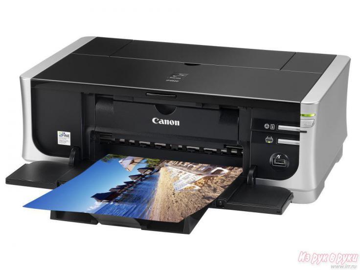 06.09.2013. Продам Canon Pixma iP4500 на запчасти (кажется не работает блок питания) печатающая головка рабочая...