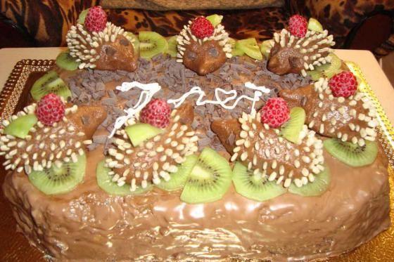 Праздничные торты в домашних условиях с фото 919